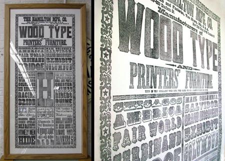 Hamilton Type Museum, Columbian Expositon poster