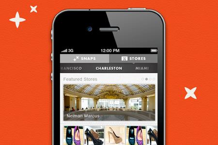 Snapette mobile app design