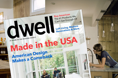 Fuzzco in Dwell: Made in the USA