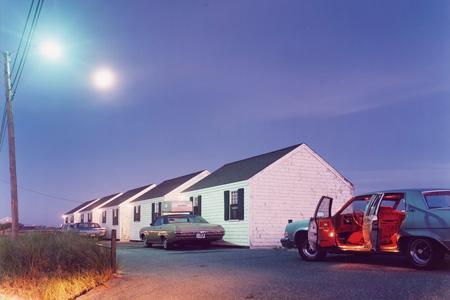 Joel Meyerowitz | Red Interior, Provincetown, 1977