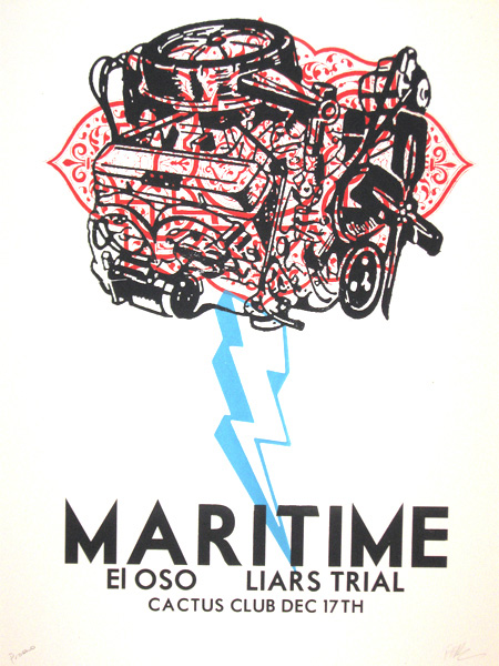 Maritime poster by Francisco Ramirez