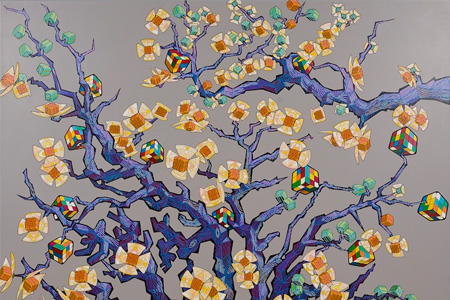 Second Tree and Its Fruit | Acrylic on Canvas, 2011